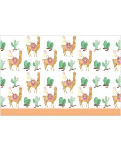 Llama-plastic Tablecover 120X180CM 1CT