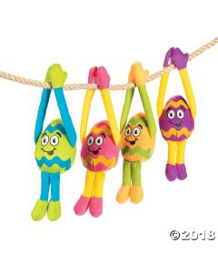 Long Arm Plush Easter Eggs
