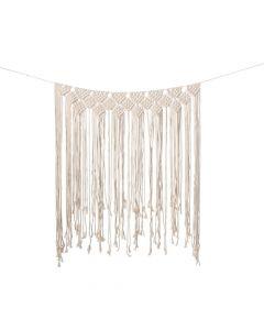 Macrame Wedding Backdrop Curtain