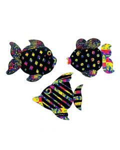 Magic Color Scratch Fish Ornaments