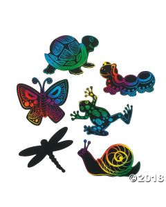 Magic Color Scratch Little Garden Critters