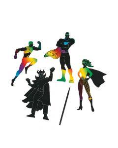 Magic Color Scratch Superheroes