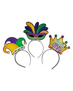 Mardi Gras Head Boppers