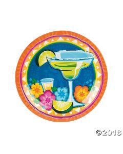 Margarita Fiesta Paper Dinner Plates