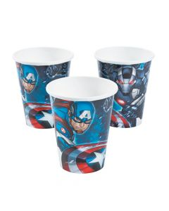 Marvel Avengers Paper Cups