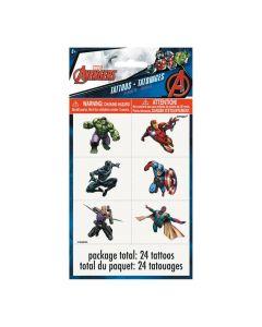 Marvel Comics The Avengers Temporary Tattoos