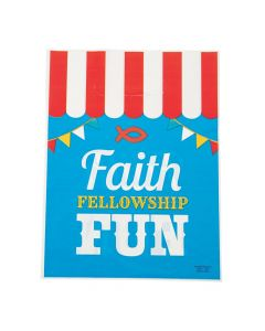 Medium Church Carnival Treat Bag