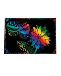 Medium Magic Color Scratch Sheets