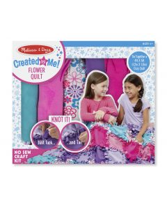 Melissa and Doug - Flower Fleece Quilt