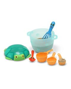 Melissa and Doug - Seaside Sidekicks Sand Baking Set