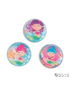 Mermaid Bouncing Balls