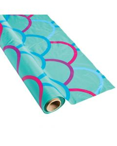 Mermaid Plastic Tablecloth Roll