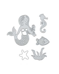 Mermaid and Sea Life Cutting Dies