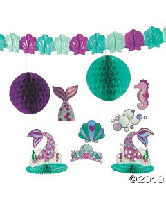 Mermaid Sparkle Decoration Kit