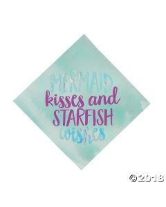 Mermaid Sparkle Lunch Napkins