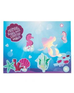 Mermaid Sparkle Sticker Scenes