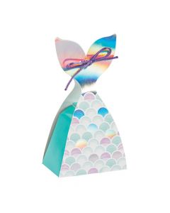 Mermaid Sparkle Tail Treat Boxes