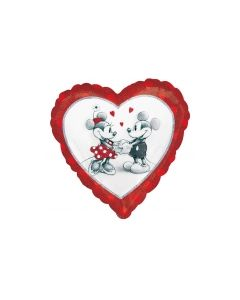 Mickey & Minnie Love Foil Balloon