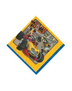 Mickey and the Roadster Racers Luncheon Napkins
