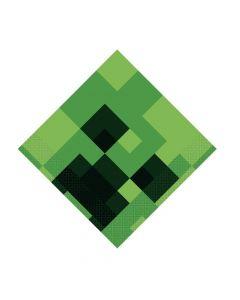 Minecraft Luncheon Napkins