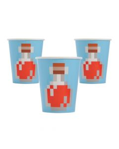 Minecraft Paper Cups