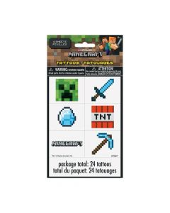 Minecraft Temporary Tattoos
