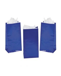 Mini Blue Treat Bags
