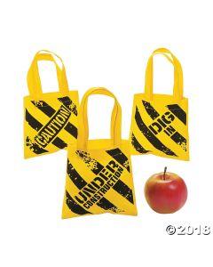 Mini Construction Zone Tote Bags