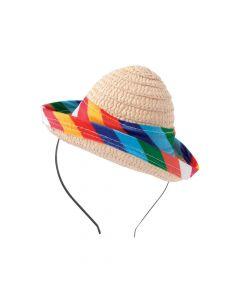 Mini Fiesta Sombrero Headbands