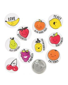 Mini Fruit of the Spirit Buttons