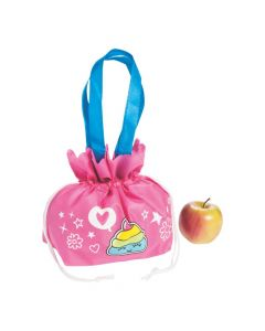 Mini Girl Squad Drawstring Pouch Tote Bags