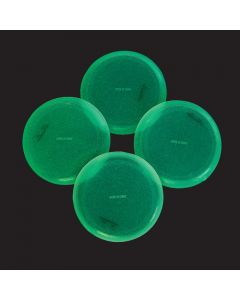 Mini Glow-in-the-Dark Flying Discs