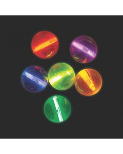 Mini Glow Stick Bouncy Balls