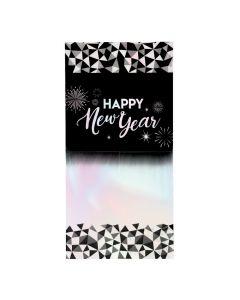 Mini Iridescent New Year's Eve Backdrop