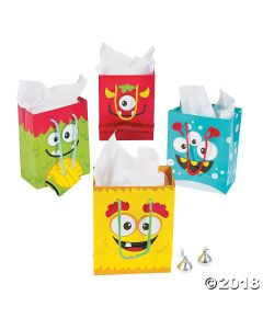 Mini Monster Small Gift Bags