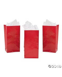 Mini Red Treat Bags