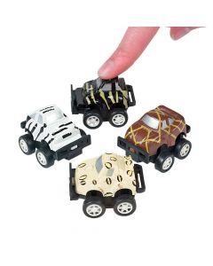 Mini Safari Pullback Race Cars