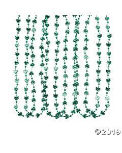 Mini Shamrock Bead Necklaces