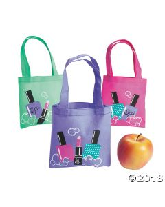Mini Spa Party Tote Bags