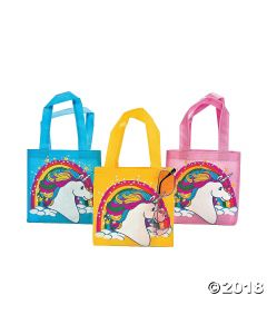 Mini Unicorn Tote Bags
