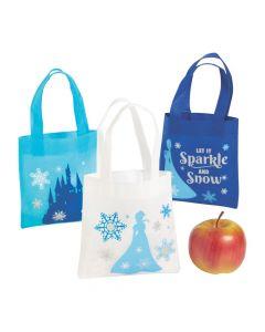 Mini Winter Princess Tote Bags