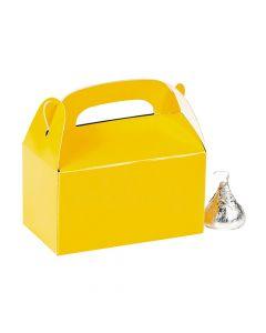 Mini Yellow Favor Boxes