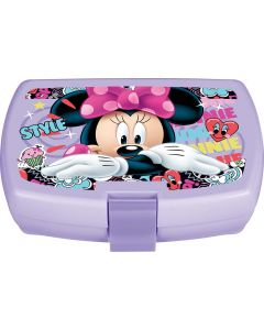Minnie Style  Latch  Lunch Box