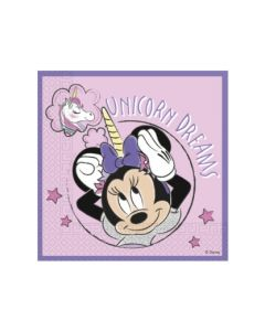 Minnie Unicorn Eco Napkins