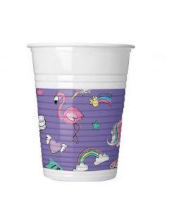 Minnie Unicorn Plastic Cups