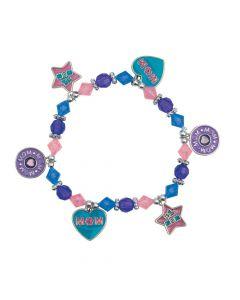 Mom Charm Bracelet Craft Kit