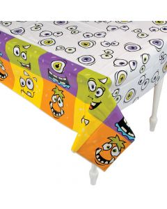 Monster Party Plastic Tablecloth