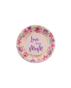 Mother's Day Floral Paper Dessert Plates - 8 Ct.