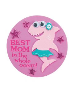 Mother's Day Shark Magnet Craft Kit