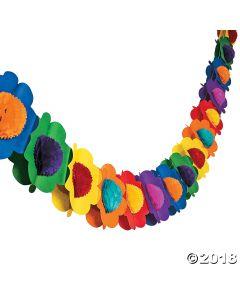Multicolor Flower Garland